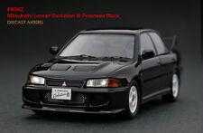 1:43 HPI Diecast #8562 Mitsubishi Lancer Evolution III Pyrenees Black