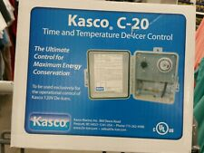 KASCO C-20 DE-ICER CONTROL - AUTOMATIC TIMER & THERMOSTAT - NIB - Free Shipping!