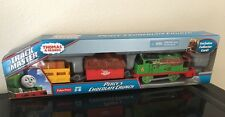Thomas Trackmaster Percy's Chocolate Crunch Motorized Train Fisher Price Percy