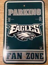 Eagles Fan Zone Parking Sign - New Item!