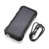 3000000mAh Quick Charging 3.0 USB Portable Solar Battery Charger Power Bank