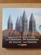 belgium 2009 euro coin set ' la cathedrale de tournai'