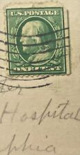 U.S. Postage Post Card Hersey Park W/1902 Stamp One Cent Benjamin Franklin Rare