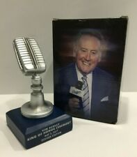Vin Scully Los Angeles Dodgers Baseball Ring Of Honor SGA Microphone 5/3/17