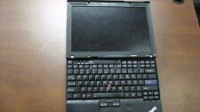 Lenovo X201 ThinkPad Laptop No RAM NO HDD Cracked Screen Without Charger