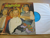 LP Kinderfest Für Kinderpartys Piraten  Tanzbär Clowns AMIGA DDR Vinyl 8 55 757