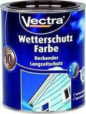 Vectra Wetterschutz Farbe Seidengläzend Weiß 5 Liter
