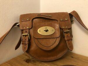 Mulberry Tasche / Handtasche 👜, aus feinstem Leder in braun