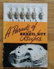 VINTAGE 1950 PARADE OF BRAZIL NUT RECIPES PAMPHLET 31 PAGES GREAT CONDITION!