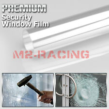Clear Security Window Film Shatterproof Glass Protection Anti Shatter 4Mil 8Mil