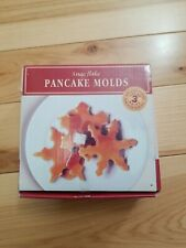 Williams-Sonoma Snowflake Snow Pancake Molds Set of 3 Molds