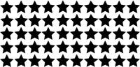 50er Set Sterne ca 10 x 10 mm DECUT DECAL viele Farben!! ANSEHEN