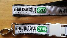 Metal Gear Solid 3D Snake Eater***Lanyard***Neu und OVP***Rar***Selten***TOP