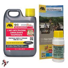 Fila Salvaterrazza 1 litro protettivo anti infiltrazioni consolidante + FaseZero