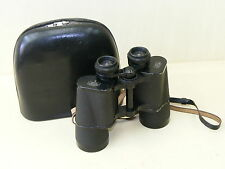 Old Carl Zeiss Jena Binoculars IN Case Dekarem 10x50
