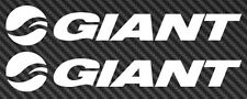 2x Giant Bicycle Bike MTB Mountain Road Frame Car Window STICKER DECAL