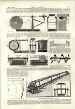 1893 Coventry Gasworks Played Conveyor Coke Tilting Buckets Barge Load
