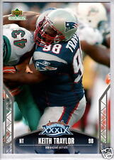 KEITH TRAYLOR 2005 Upper Deck Super Bowl #34