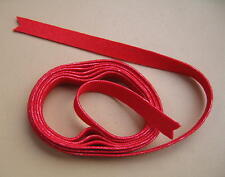 Key Bushing Cloth-Red-Top Quality Cloth-for Harpsichords, Spinets and Virginals