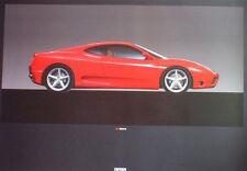 Ferrari 360 Modena Factory Car Poster :>).