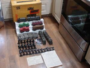 Marx Allstate Electric Train Set # 9625 Original  Boxed Engine Runs & Smokes