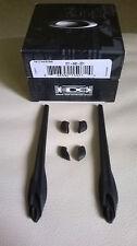 Lunettes de soleil/de Rechange Flak Jacket Version 2.0+XL embouts + coussinets (Noir)