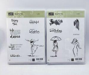 Stampin' Up! Beautiful You Stamp Set Dance Celebratory Women Beautiful