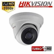 Hikvision Reino Unido Domo 2MP HD TVI dispositivo antimanipulación CCTV Cámara Interior & Al Aire Libre Lentes 2.8 mm 20 m IR