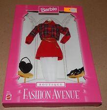 Barbie Fashion Avenue Collection Real Clothes Boutique Mattel 18126 NIB 97 121L