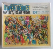 Marvel Super Heroes Fantasy Jigsaw Puzzle Whitman 1983 300 Pieces Portrait VTG