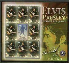 St. Vincent Bequia Elvis Scott#322 Sheet Mint Nh