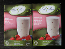 IDEAL PROTEIN WILDBERRY YOGURT FLAVOURED DRINK MIX  (4 BOXES OF 7)