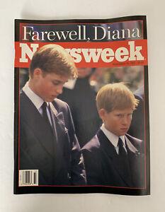 Newsweek Magazine Farewell Diana Prince William Harry September 15 1997 9/15/97