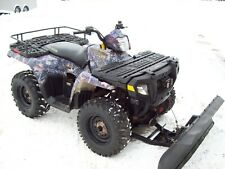 2005 Polaris Sportsman 500 Hunter Edition, winch and plow