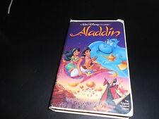 RARE (ALADDIN) VHS (WALT DISNEY'S) BLACK DIAMOND ORIGINAL TAPE.