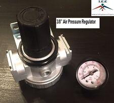"3/8"" Air Pressure Regulator for Compressed Air Compressor w/ Gauge"
