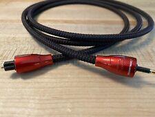 AudioQuest Cinnamon Toslink / 3.5 Mini Optical Digital Audio Cable, 1.5 Meter