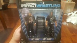 2011 Jakks TNA Impact Wrestling Jeff & Matt Hardy Twist of Hate 2 Pack Ringside