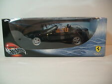 NIB 1:18 BLACK 550 BARCHETTA PININFARINA CONVERTIBLE Die-cast By Hot Wheels