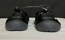 Speedo Black Water Shoes Mens Small  New Without Tags