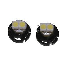 2 X BLUE LED T4 T4.2 Neo Wedge SMD LED Dash Instrument Controls Light Bulb 10mm