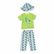 dbd20a295 Zutano Baby Boys Shirt & Pants Set, size 12 mo, green, white,