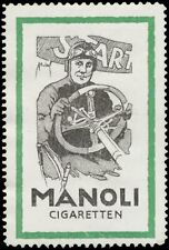 Reklamemarke Manoli Cigaretten - 455933