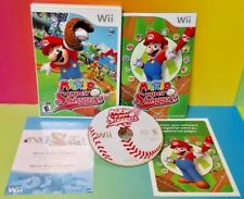 Mario Super Sluggers Baseball  Nintendo Wii and Wii U Game 1-4 players can play