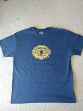 Slingerland Radioking 30s 40s badge T,Size is Xl Navy Blue