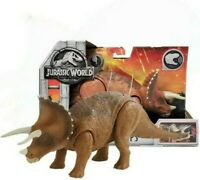 Jurassic World ROARIVORES TRICERATOPS Action Figure w/ sound & movement NEW!
