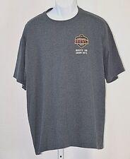 "Route 66 Casino Hotel Legendary Bowl Bash Gray T Shirt Mens Extra Large XL 46"""