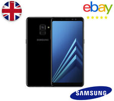 NEW 64GB BLACK 2018 Samsung Galaxy A8 UNLOCKED Dual Sim A530 Mobile Smart Phone