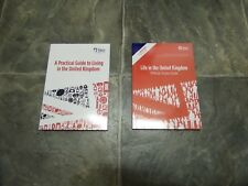 BRAND NEW Life in the UK Study Guide and Practical Guide Books ESSENTIAL GUIDES