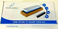 Sharp Pebble Premium Whetstone Knife Sharpening Stone 2 Side Grit 1000/6000 NEW